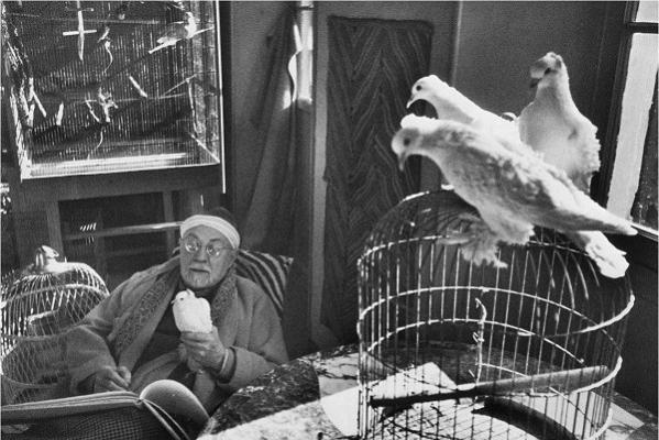 Анри́ Картье́-Брессо́н (фр. Henri Cartier-Bresson) Henri-cartier-bresson-henri-matisse