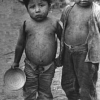 Boys living in the Mejicanos slum, Cornell Capa