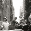 A Cornell Capa photograph of Jacqueline and John F. Kennedy campaigning in Manhattan in 1960