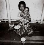 2 Babies Begging Bangkok, Thailand (1999) Gerry Yaum