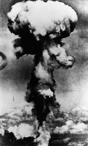 Атомный гриб над Хиросимой, 6 августа 1946, Keystone/Getty Images