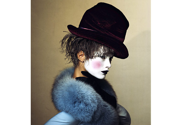 Irving Penn, Hat Trick, July 2007