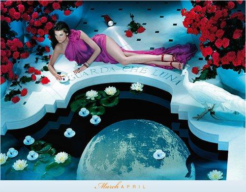Календарь Lavazza 2010, март-апрель