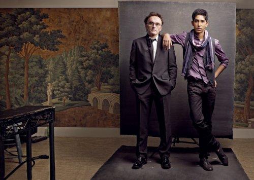 Дэнни Бойл/DANNY BOYLE и Дэв Пател/DEV PATEL, Slumdog Millionaire (2008)