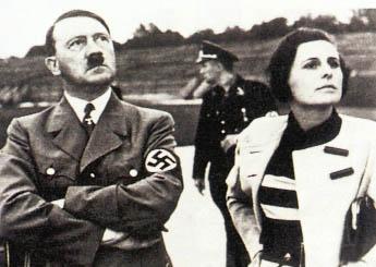 Лени Рифеншталь с Гитлером