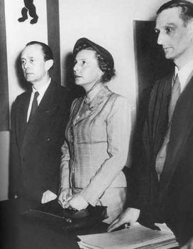 Лени Рифеншталь в суде