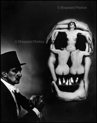 "Сальвадор Дали (Salvador Dali), ""In Voluptate Mors"", Нью-Йорк, США, 1951"