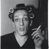 A young man with curlers at home on West 20th Street, N.Y.C. 1966 - Диана Арбус (Diane Arbus)