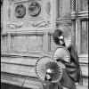 ITALY. Venice. 2004. Dressed for Carnival in front of church - Леонард Фрид (Leonard Freed)
