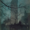 The Flatiron (Evening), 1906, Three-colour half-tone photogravure - Эдвард Стейхен (Edward Steichen)