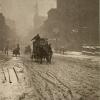 Пятая авеню зимой