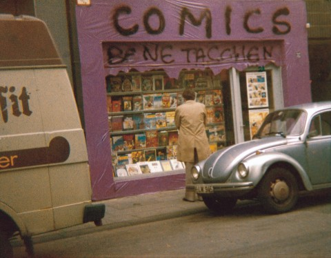 TASCHEN COMICS shop in Cologne