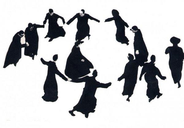 Танцующие семинаристы из серии «Pretini» МариоДжакомелли