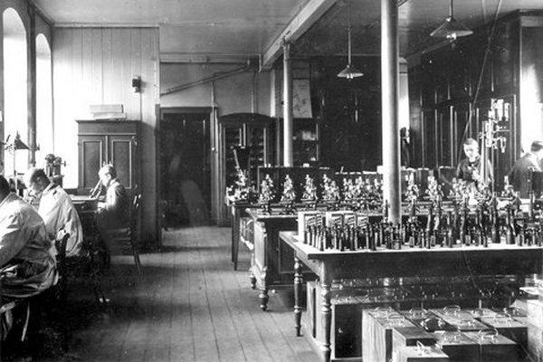 Лаборатория в Ветцларе