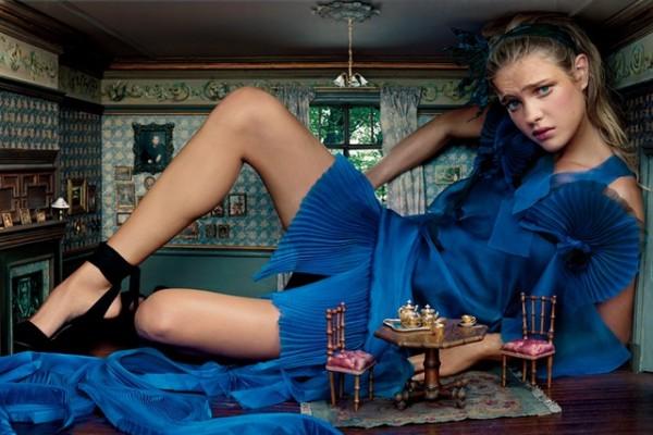 Наталья Водянова – муза Высокой моды