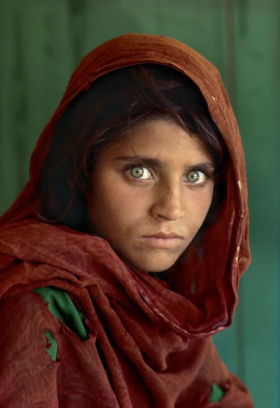 Стив Мак-Карри - Афганская девочка. 1984г.