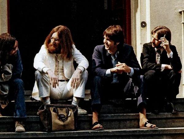 Фотосессия The Beatles для обложки Abbey Road
