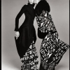 Jade Parfitt and Esther De Jong in Art Deco ensembles by Galliano, New York, March 1998 -2 - Ричард Аведон (Richard Avedon)